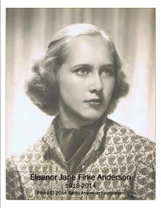 Eleanor Jane Firke Anderson