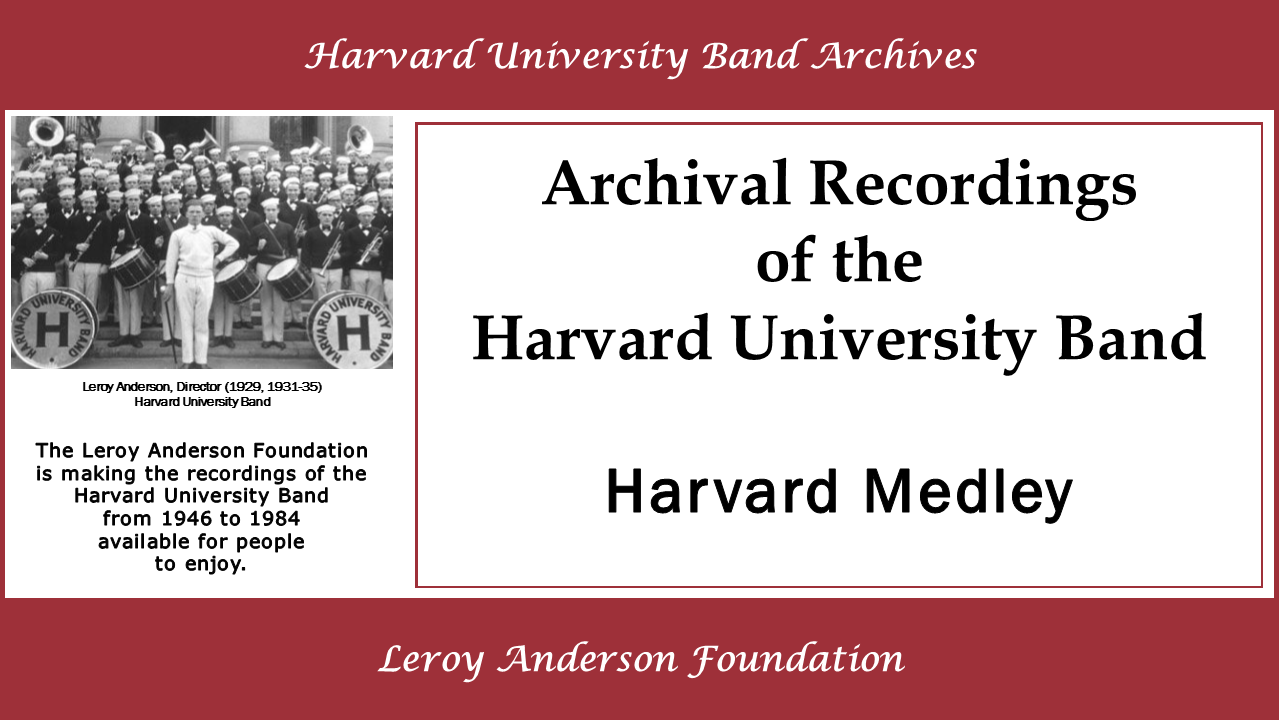Harvard University Band Archives