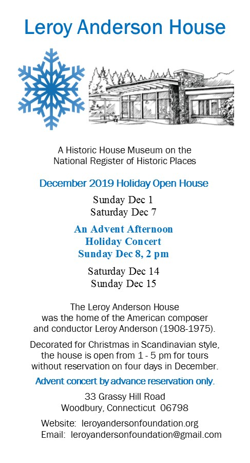 Leroy Anderson House