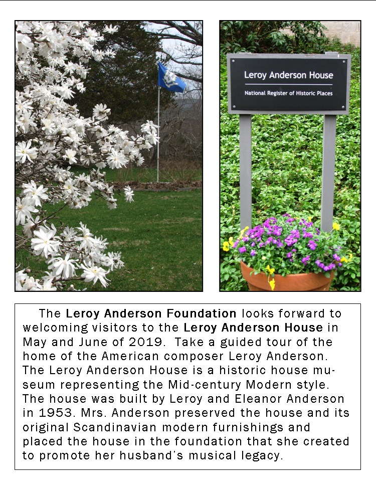 leroy anderson house 2019